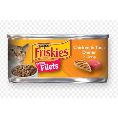 Friskies® Prime Filets Chicken & Tuna Dinner in Gravy Cat Food