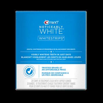 Crest 3D White Whitestrips Noticeably White