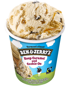 Ben & Jerry's® Keep Caramel and Cookie On™ Ice Cream
