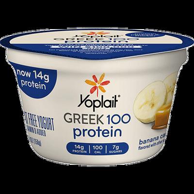 Yoplait® Greek 100 Protein Banana Caramel Yogurt