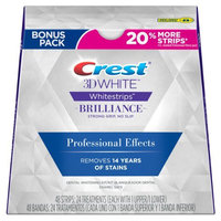 Crest 3D White Whitestrips Brilliance Professional Effects