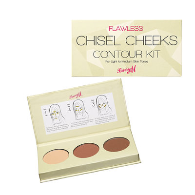 Barry M Cosmetics Flawless Chisel Cheeks Contour Kit