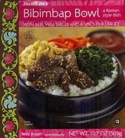 Trader Joe's Bibimbap Bowl