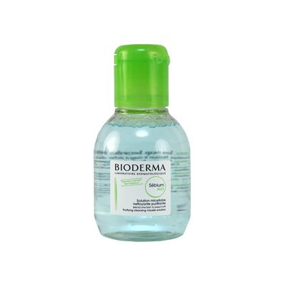 Bioderma - Sebium H2O Purifying Cleansing Micelle Solution (For Combination/Oily Skin) 100ml/3.3oz