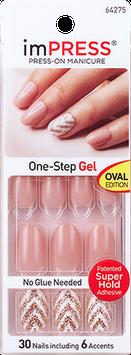 imPRESS Press-on Manicure Gel Nail Design