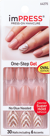 imPRESS Press-on Manicure Gel Nail Design