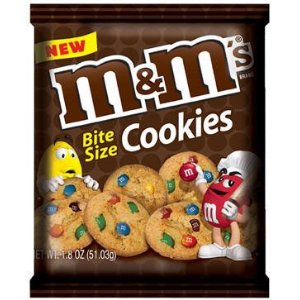 M&M's Cookies Bite Size