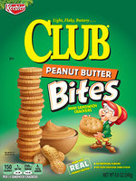 Keebler Club Peanut Butter Bites Mini Sandwich Crackers