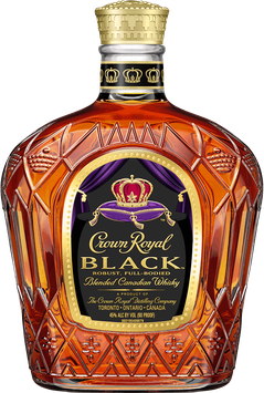 Crown Royal Black Blended Canadian Whisky