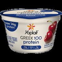Yoplait® Greek 100 Protein Black Cherry Yogurt