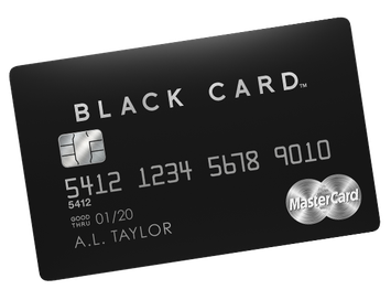 Luxury Card MasterCard Black Card