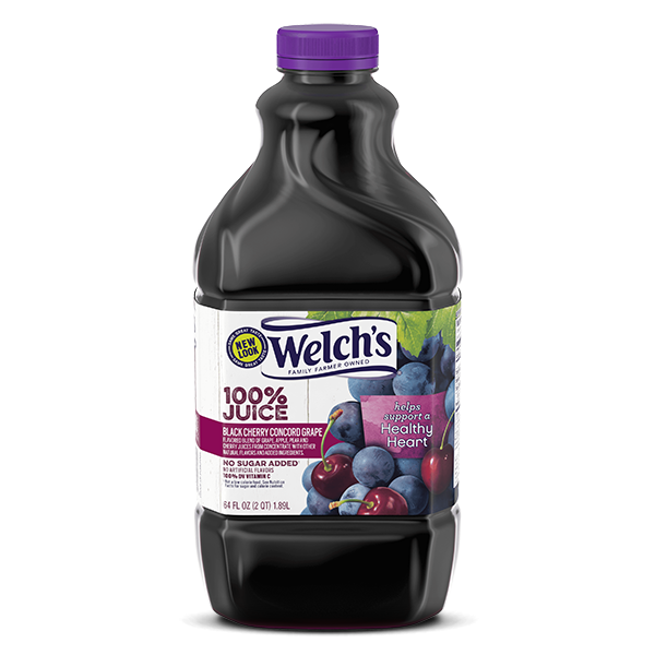 Welch's® 100% Black Cherry Concord Grape Juice