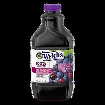 Welch's® 100% Black Cherry Concord Grape Juice