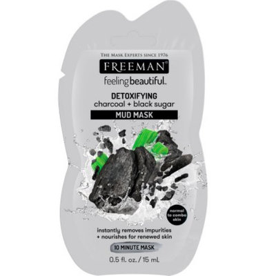 Freeman Beauty Feeling Beautiful™ Charcoal and Black Sugar Mud Mask