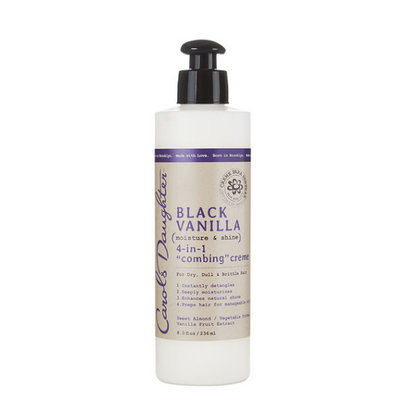 Carol's Daughter Black Vanilla 4-in-1 Combing Creme For Dry Dull Or Brittle Hair