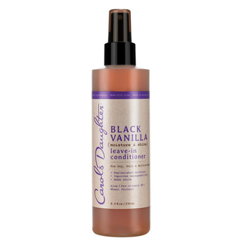 Carol's Daughter Black Vanilla Moisture & Shine Leave-In Conditioner For Dry Dull Or Brittle Hair