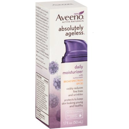 Aveeno® Active Naturals Absolutely Ageless Daily Moisturizer, Blackberry