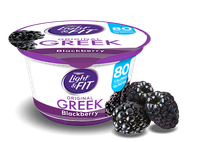 Light & Fit® Blackberry Greek Nonfat Yogurt