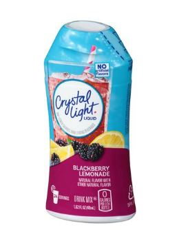 Crystal Light Blackberry Lemonade Liquid Drink Mix