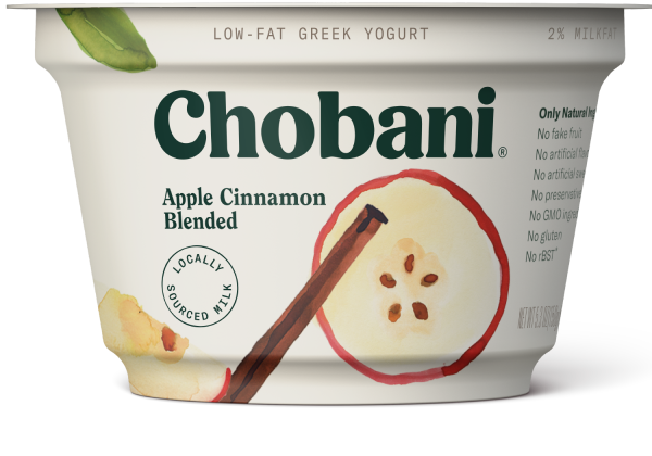 Chobani® Blended Apple Cinnamon