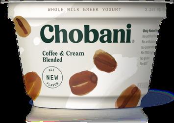 Chobani® Blended Coffee & Cream
