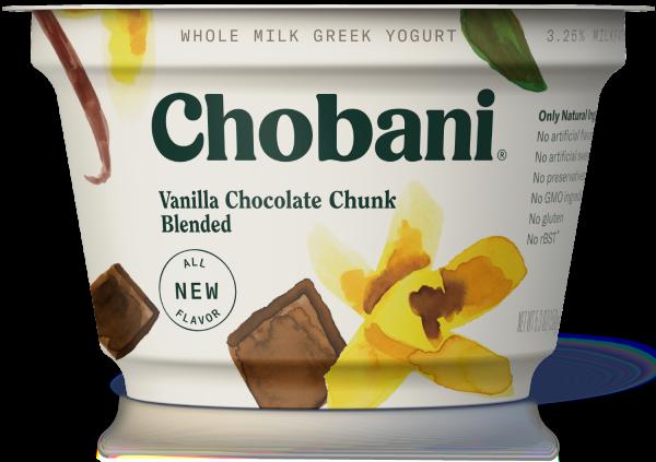 Chobani® Blended Vanilla Chocolate Chunk