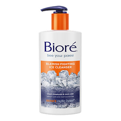 Bioré Blemish Fighting Ice Cleanser