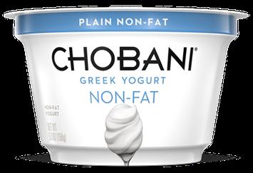 Chobani® Plain Non-Fat Greek Yogurt