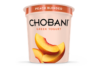 Chobani® Blended Peach