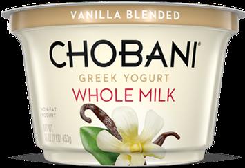 Chobani® Blended Vanilla Whole Milk