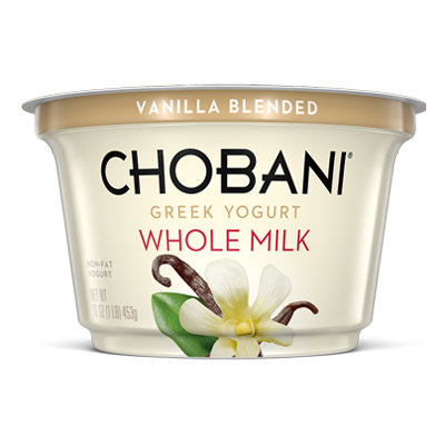 Chobani® Blended Vanilla Whole Milk