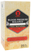 Piping Rock Blood Pressure Herb Tea 20 Bags