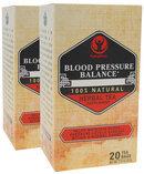 Piping Rock Blood Pressure Herb Tea 2 Boxes x 20 Tea Bags