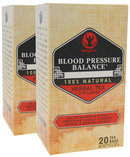 Piping Rock Blood Pressure Herb Tea 2 Boxes x 20 Tea Bags