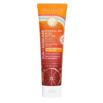 Pacifica Blood Orange Mineral SPF 50 Body Butter