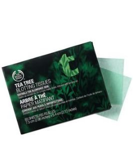 THE BODY SHOP® Tea Tree Blotting Tissues