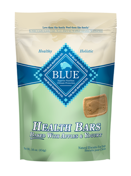THE BLUE BUFFALO CO. BLUE™ Health Bars Baked with Apples and Yogurt Natural Biscuits for Dogs