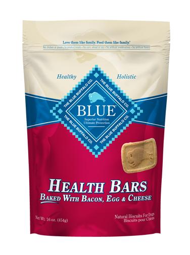 THE BLUE BUFFALO CO. BLUE™ Health Bars Baked with Bacon, Egg & Cheese