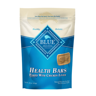 THE BLUE BUFFALO CO. BLUE™ Health Bars Baked with Chicken Liver Natural Biscuits for Dogs