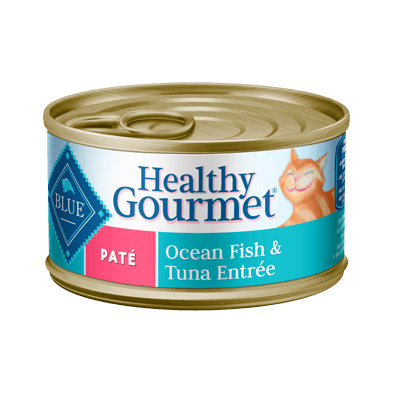 THE BLUE BUFFALO CO. BLUE™ Healthy Gourmet® Ocean Fish & Tuna Entrée For Adult Cats