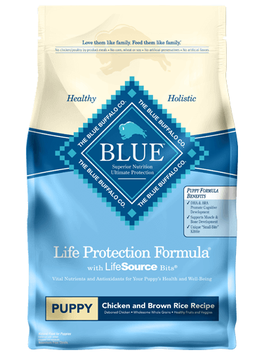 THE BLUE BUFFALO CO. BLUE™ Life Protection Formula® Chicken and Brown Rice Recipe For Puppies