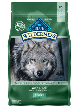 THE BLUE BUFFALO CO. BLUE™ Wilderness® Duck For Adult Dogs