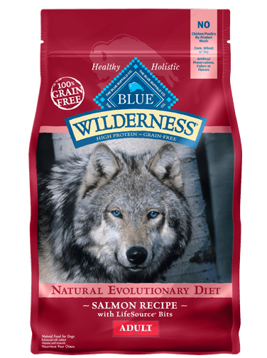 BLUE Wilderness® Salmon Recipe For Adult Dogs