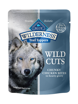 THE BLUE BUFFALO CO. BLUE™ Wilderness® Wild Cuts Trail Toppers™ Chunky Chicken Bites in Hearty Gravy