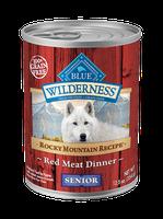 Blue Buffalo BLUE Wilderness™ Rocky Mountain Recipe™ Red Meat Dinner Recipe For Senior Dogs