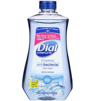 Dial® Complete Antibacterial Foaming Hand Wash Spring Water