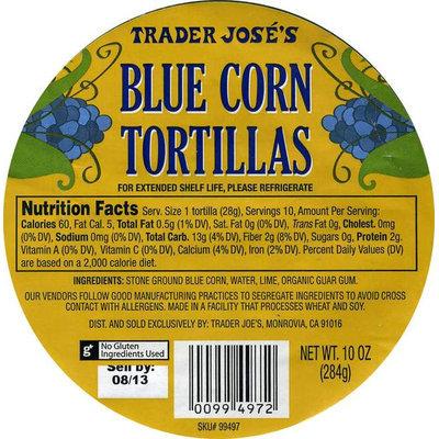 Trader Joe's Blue Corn Tortillas