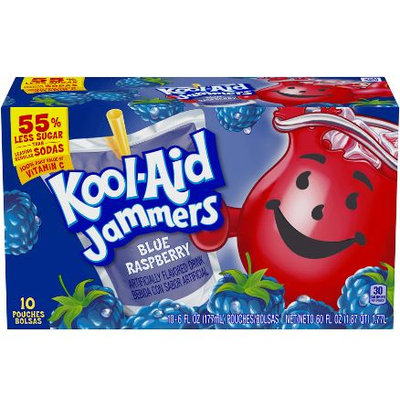 Kool-Aid Jammers Blue Raspberry Flavored Drink