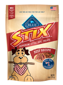 THE BLUE BUFFALO CO. BLUE™ Stix™ Beef Recipe Soft-Moist Treats
