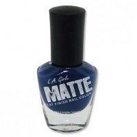 LA GIRL Matte Finish Nail Color - Blue Twilig